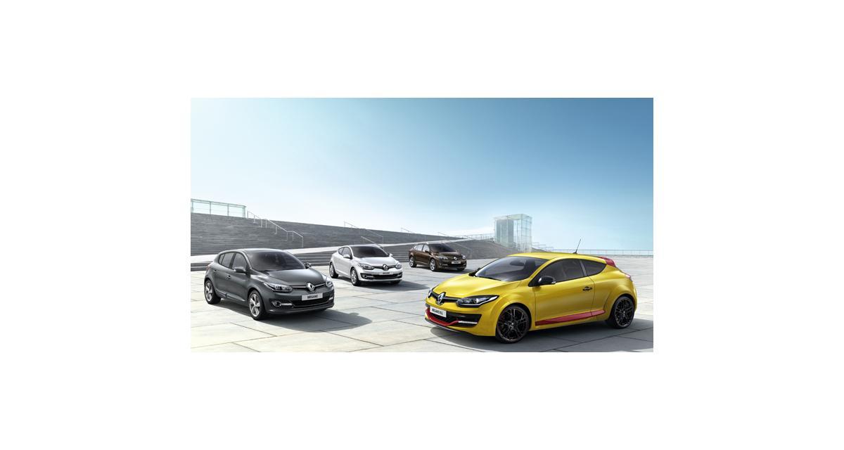 Renault Mégane restylée : une calandre et ça repart (Francfort 2013)