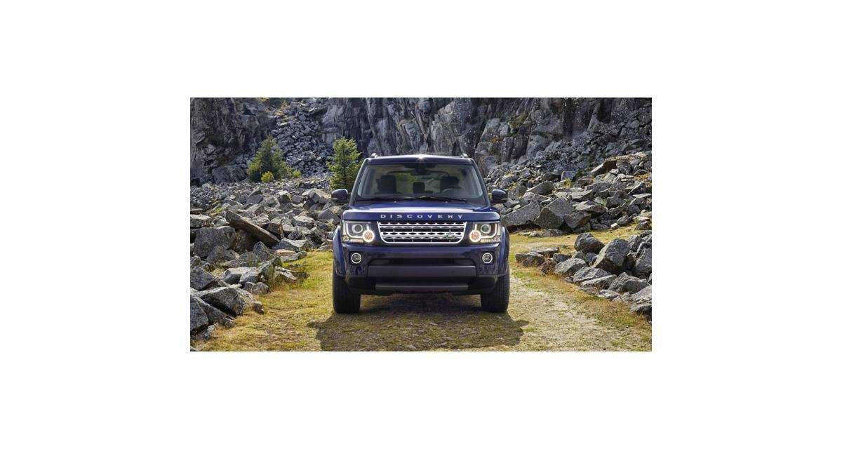 Land Rover : le Discovery remis à jour pour 2014