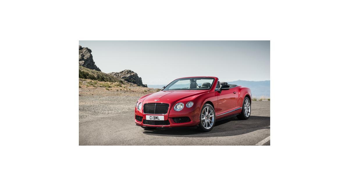 Bentley : une Continental GT V8 S pour Francfort