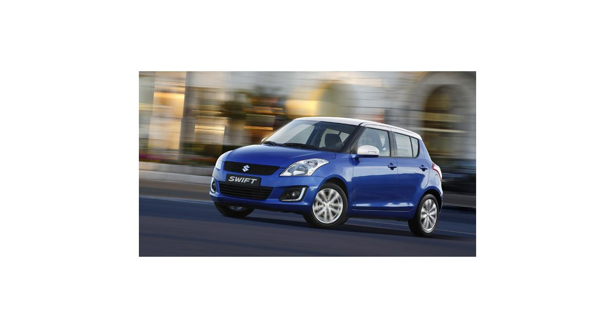 Suzuki Swift restylée (2013) : tous les tarifs