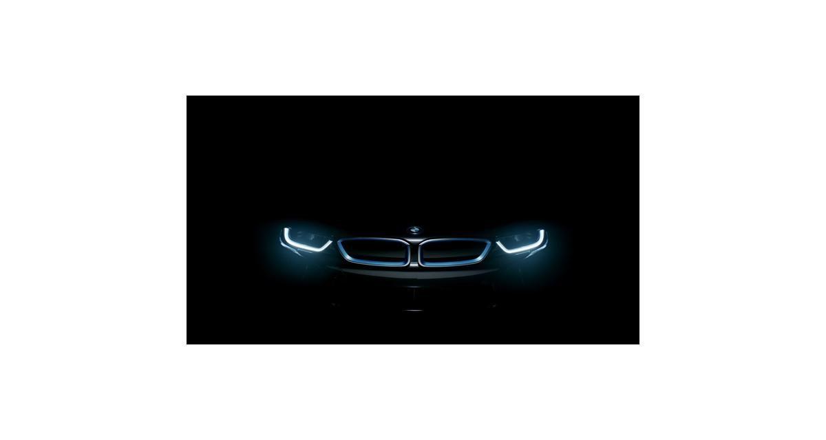 Francfort 2013 : la BMW i8 en approche