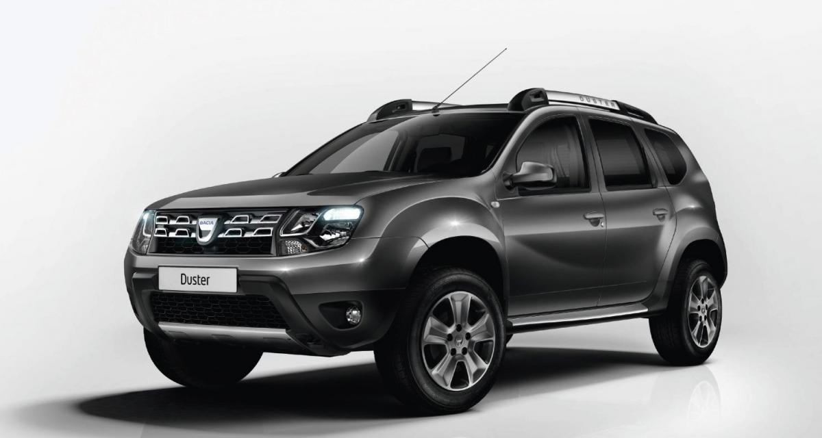 Francfort : Dacia Duster restylé (2014)