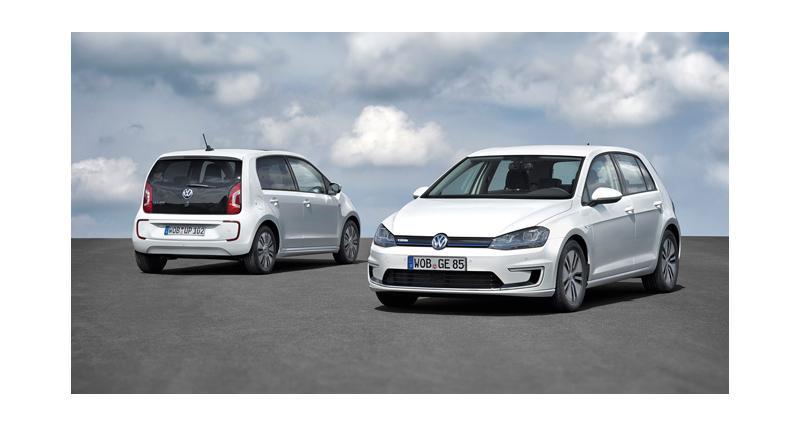 Volkswagen e-Golf : l'anti-Leaf (Francfort 2013)