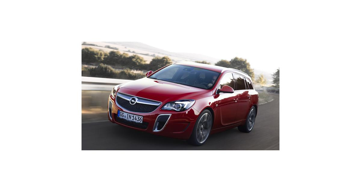 Opel Insignia OPC restylée : nouveau plumage, même ramage