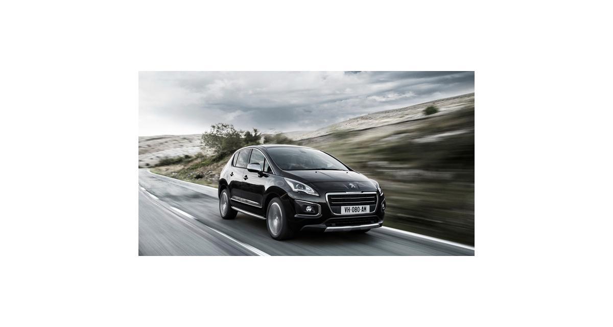Peugeot 3008 et 5008 restylés : mise à la page