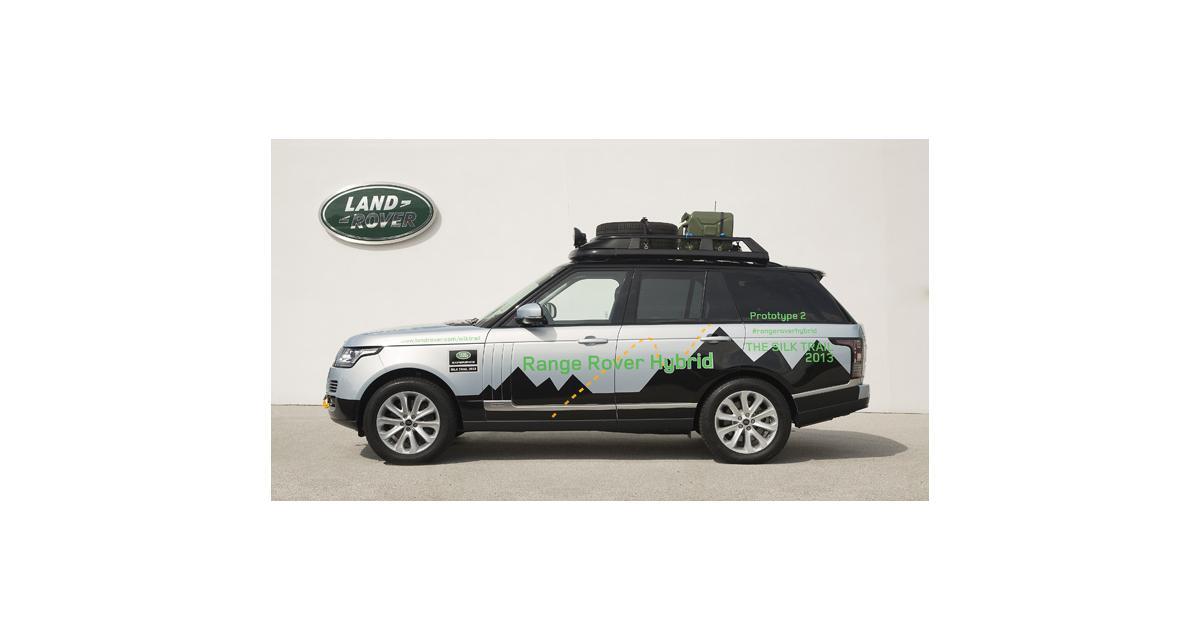 Le Range Rover passe à l'hybride