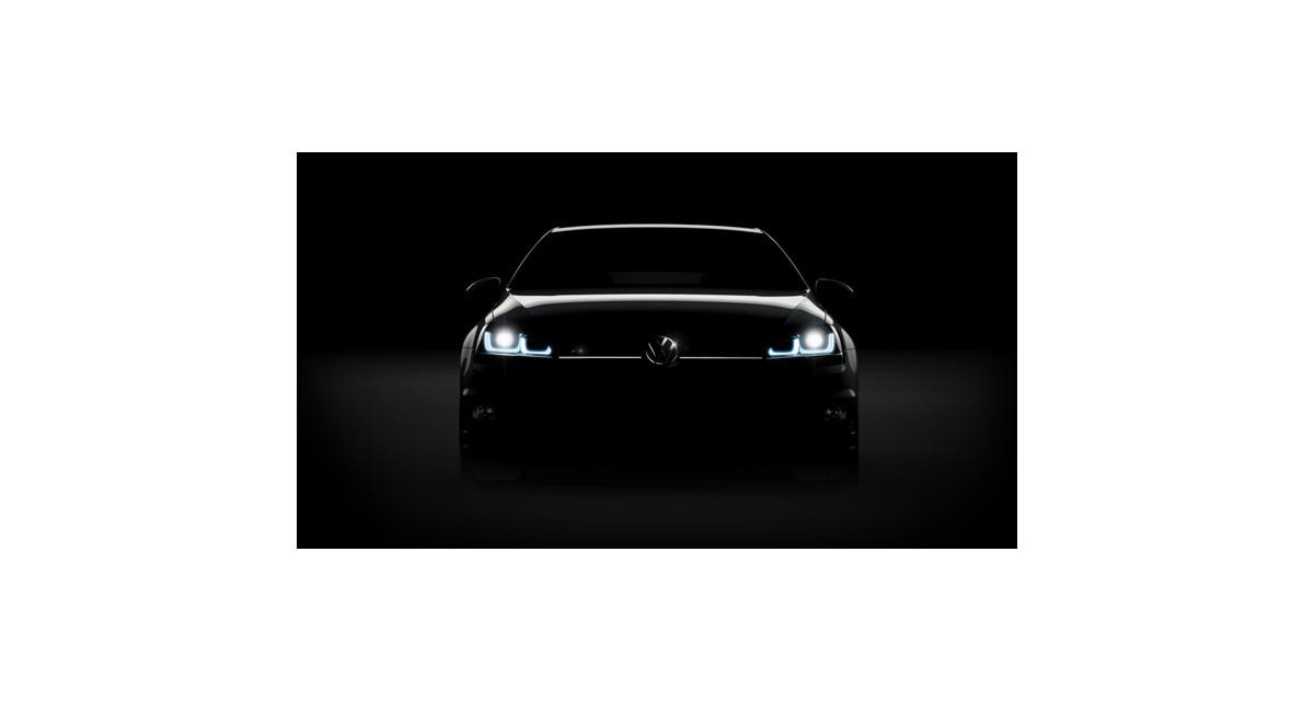 Volkswagen Golf R : 300 ch à Francfort