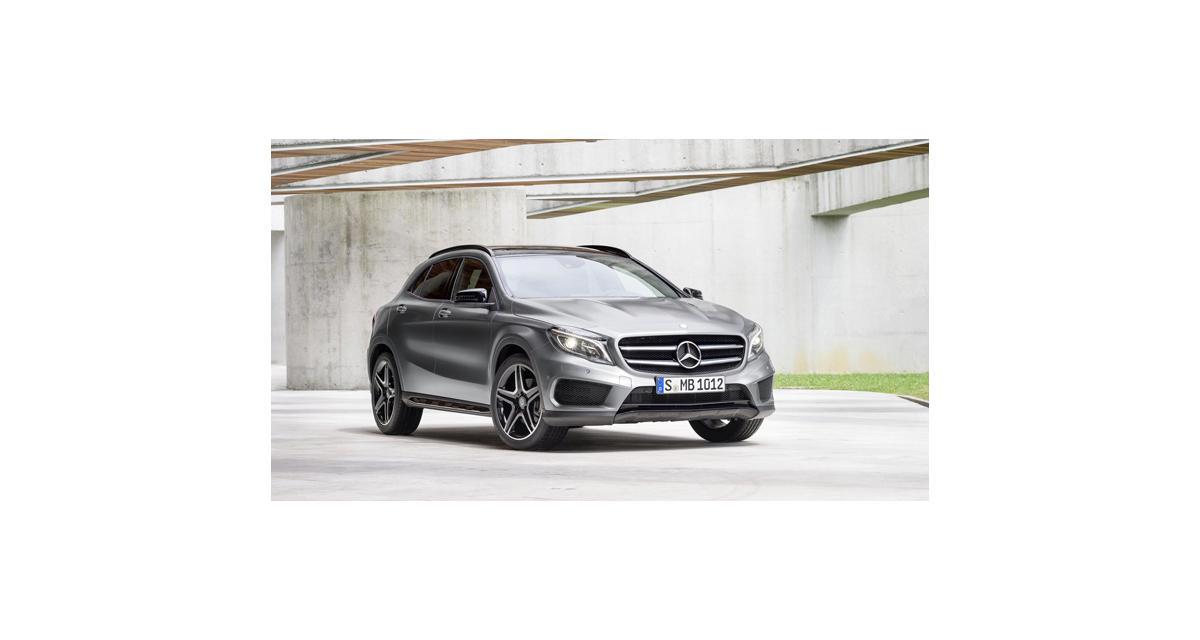 Mercedes GLA : la Classe A part à l'aventure