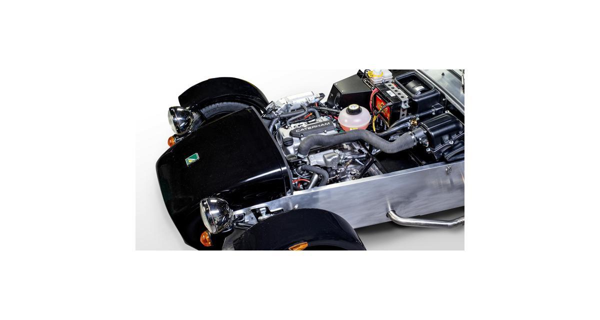 Caterham : une nouvelle Seven avec un 3 cylindres Suzuki