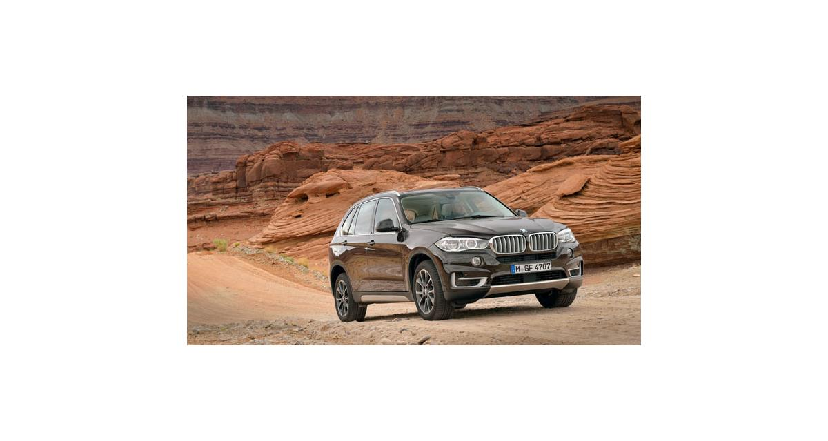 BMW X5 III (2013) : à partir de 52 900 euros