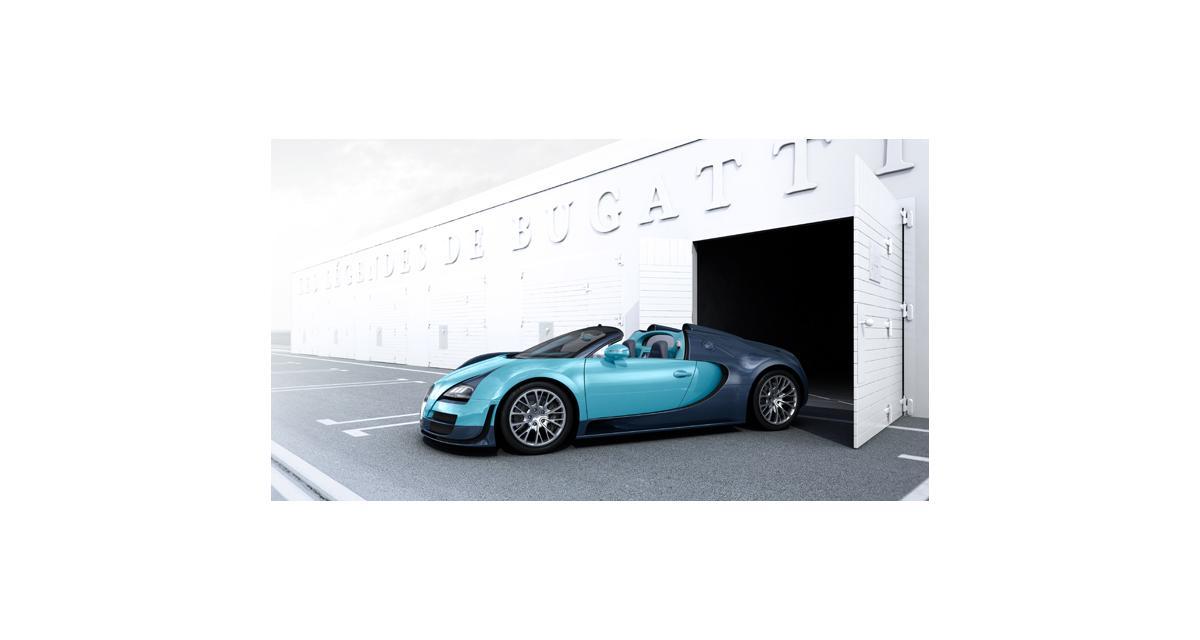 Bugatti : des séries limitées légendaires