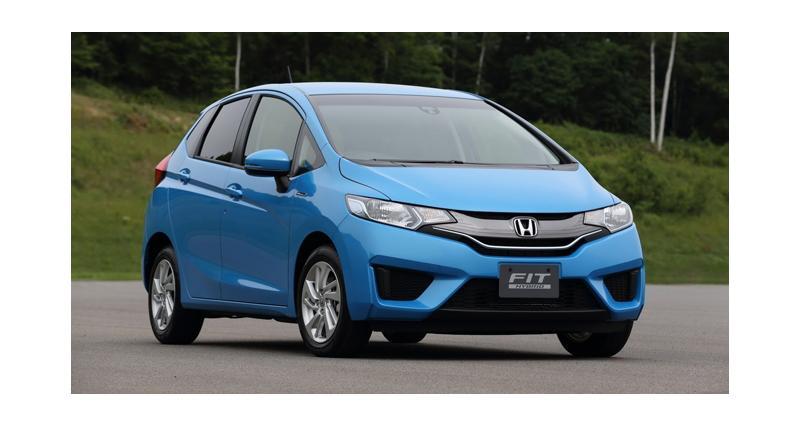Honda Jazz Hybride : 2,7 l/100 km pour le nouveau modèle