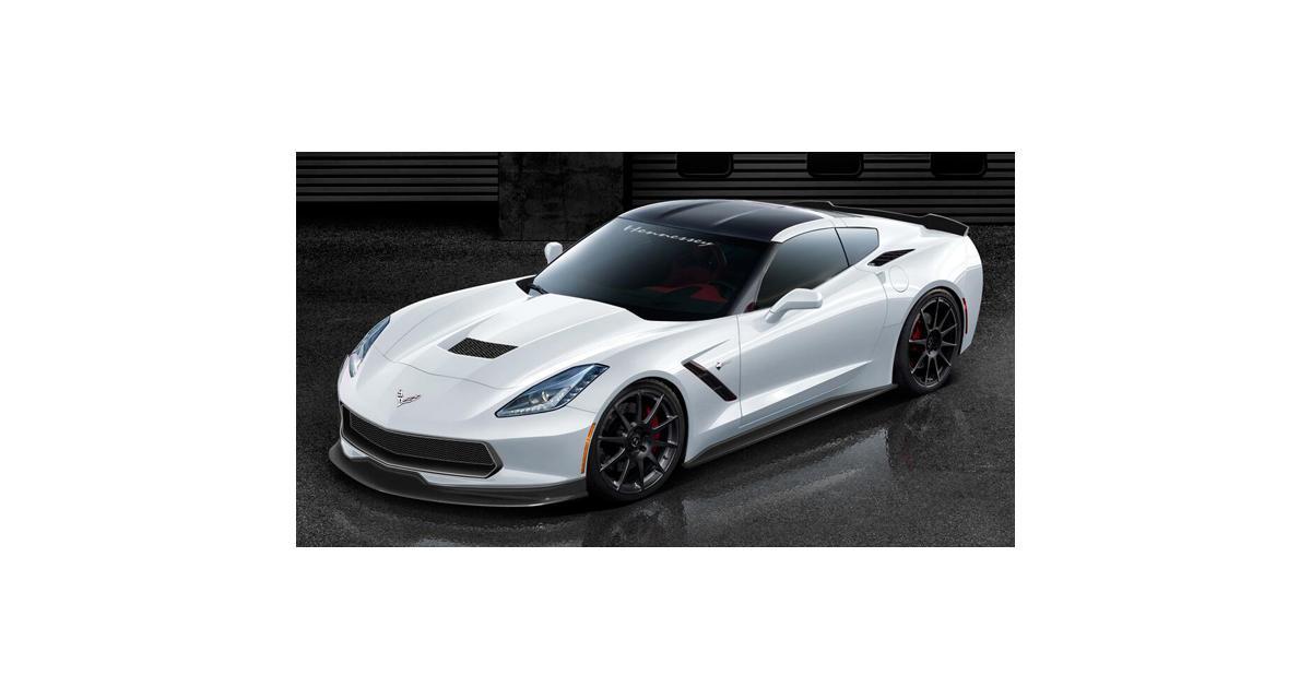 Corvette Stingray par Hennessey : de 600 à 1 000 ch