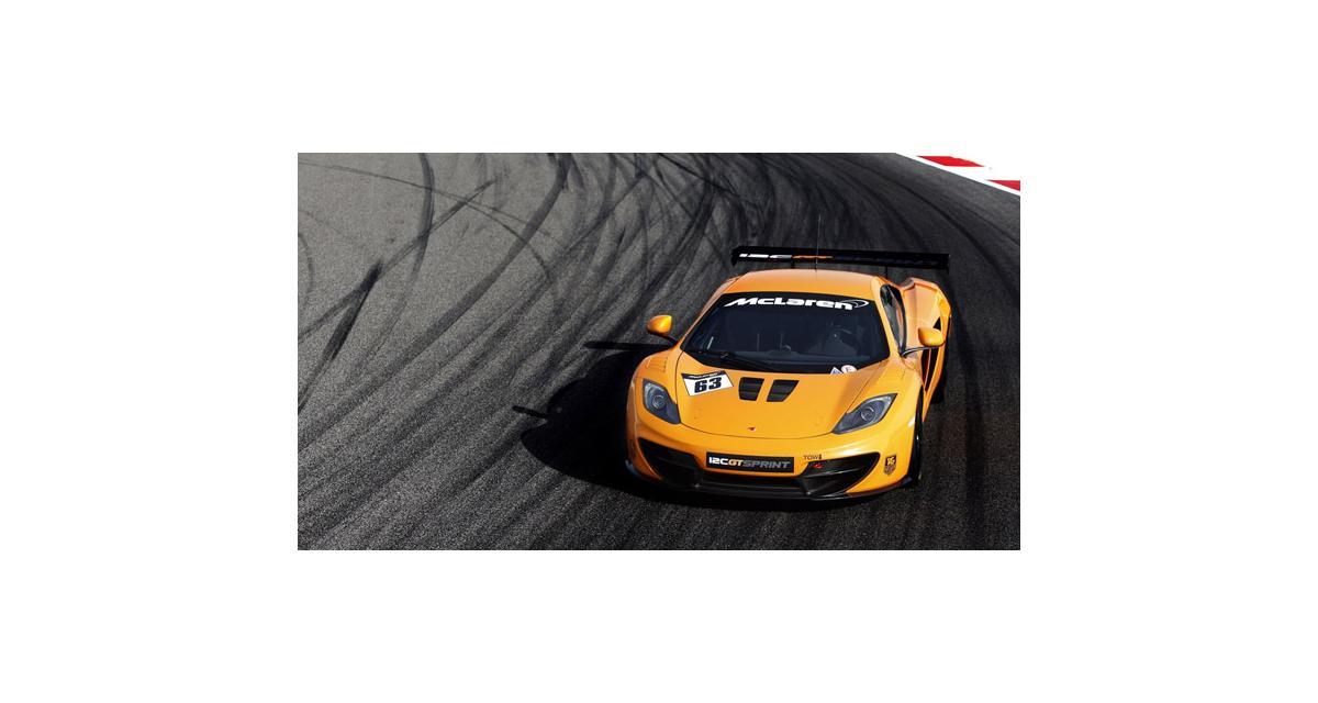 McLaren 12C GT Sprint : encore une pistarde (Goodwood 2013)