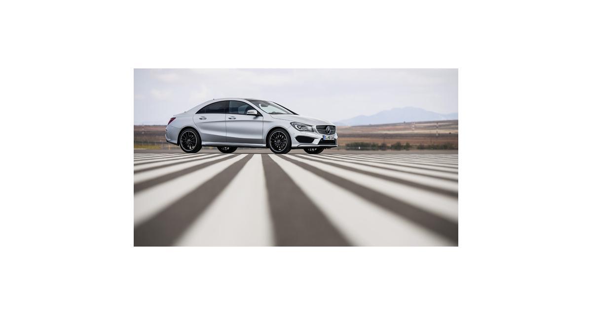 Mercedes CLA 45 AMG : par ici l'addition
