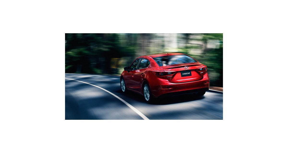 Mazda3 4 portes : une 6 en réduction