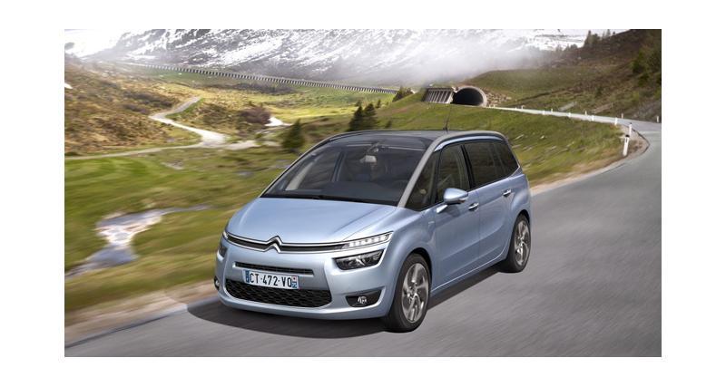 Citroën Grand C4 Picasso : la grille des tarifs du monospace 7 places