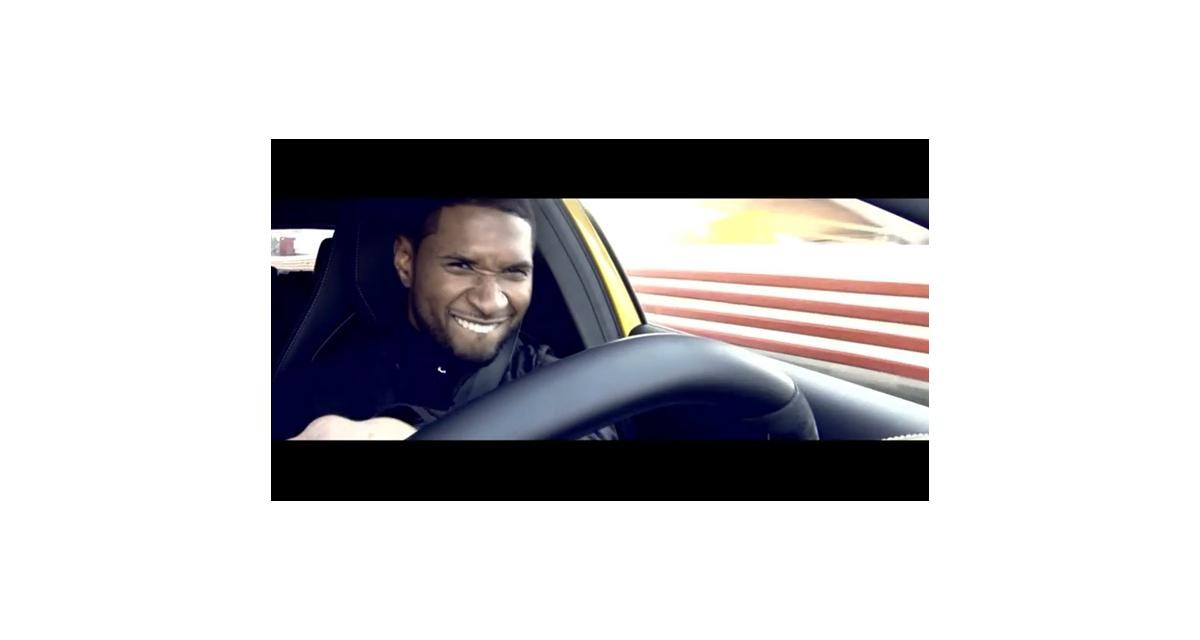 Mercedes A45 AMG : Usher au volant (vidéo)