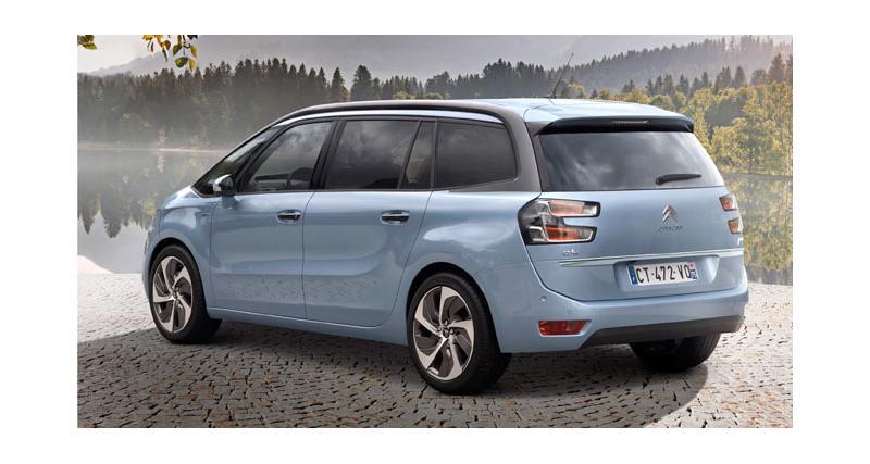 Nouveau Citroën Grand C4 Picasso : la fiche technique, toutes les infos