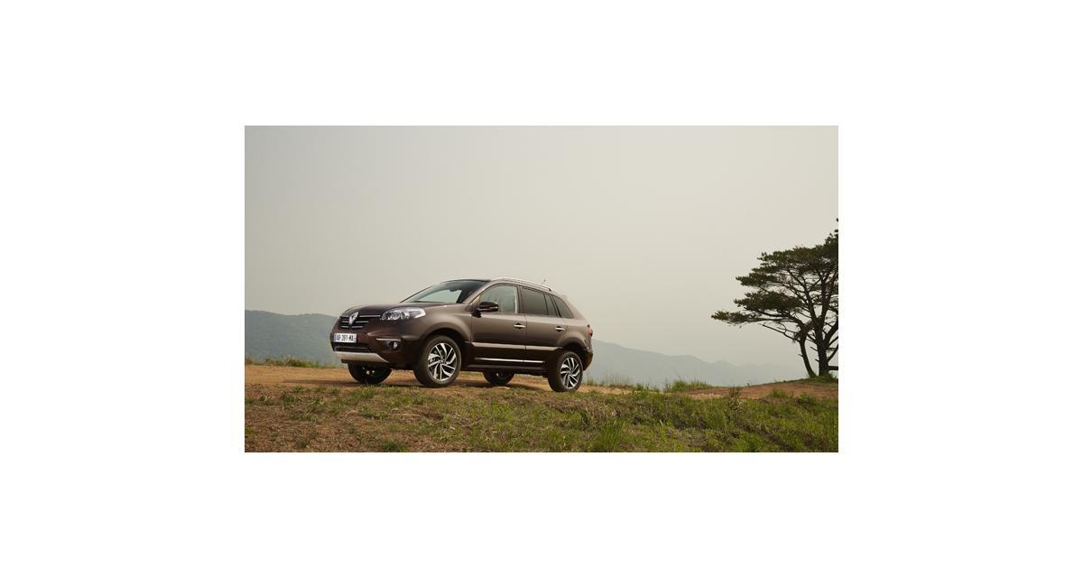 Renault Koleos 2013 : timide mise à jour