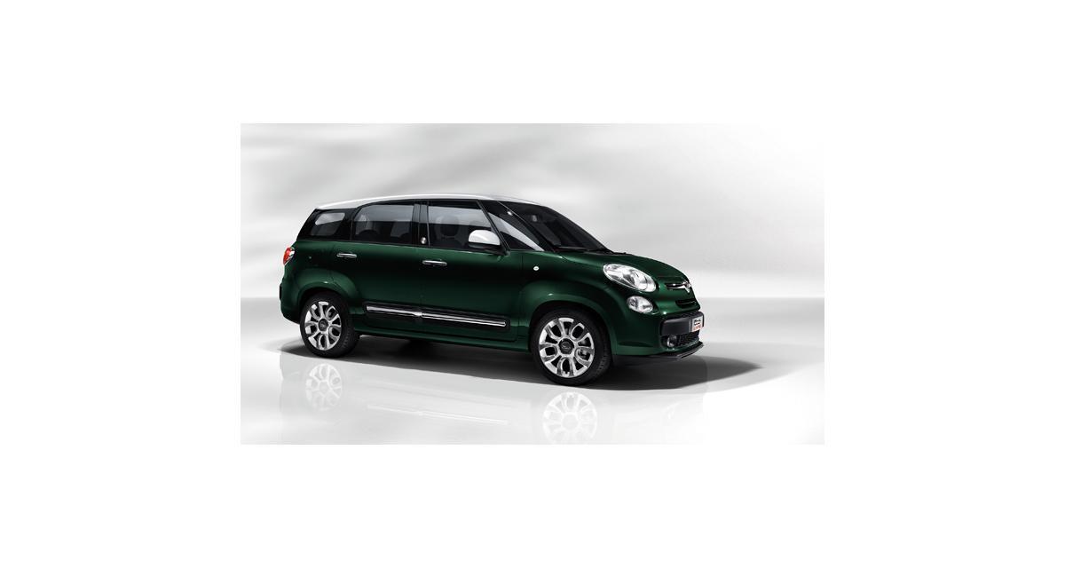 Fiat 500L Living : la famille 500 s'agrandit