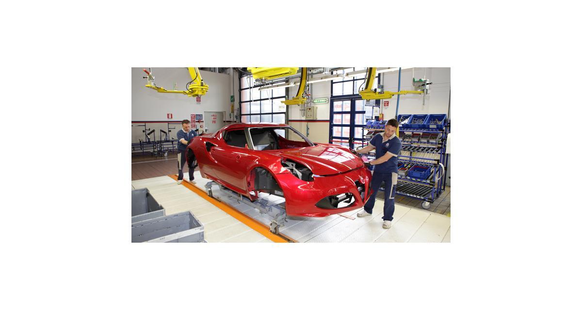 L'Alfa Romeo 4C se dévoile un peu plus