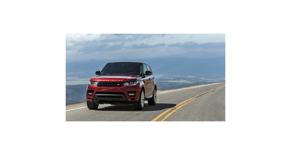 Le Range Rover Sport signe un nouveau record à Pikes Peak