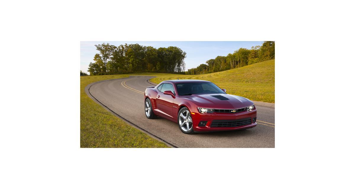 Chevrolet Camaro restylée (2013) : 43 000 € pour un V8 de 432 chevaux
