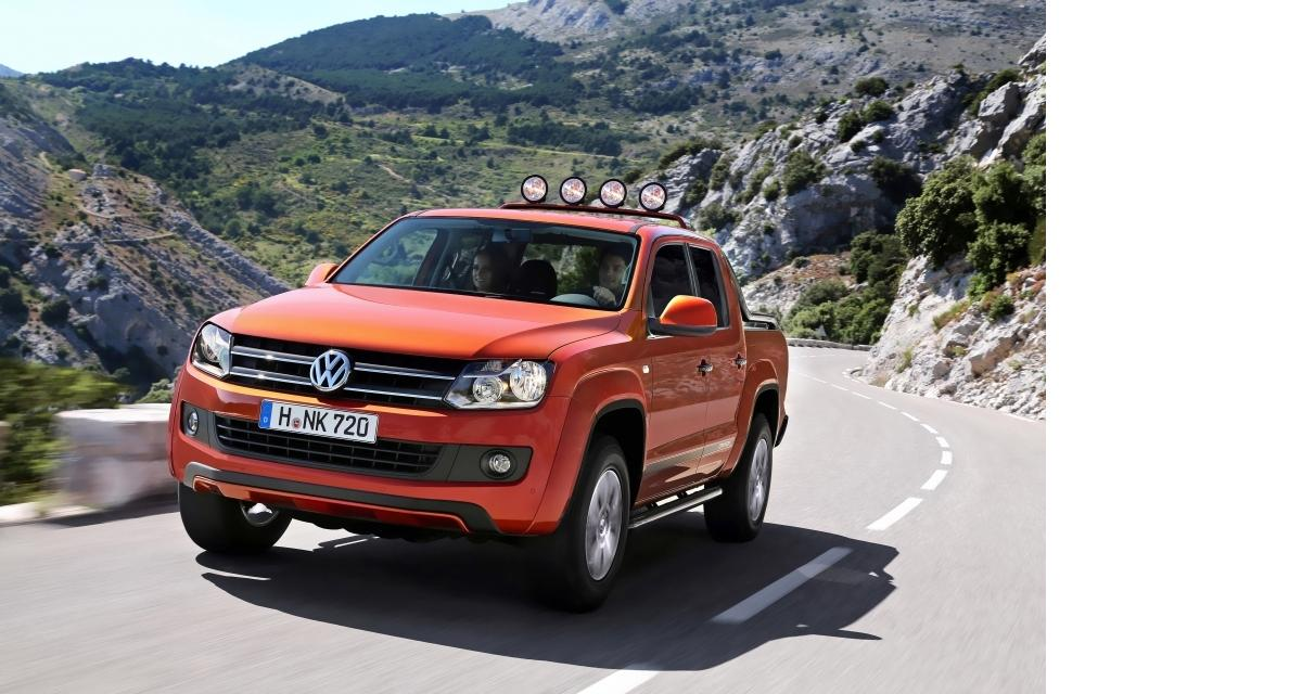 volkswagen amarok canyon une s rie limit e du pick up. Black Bedroom Furniture Sets. Home Design Ideas