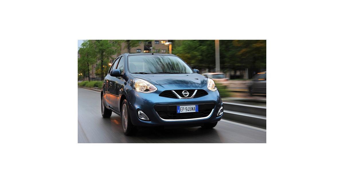 Nissan Micra restylée : effet personnel
