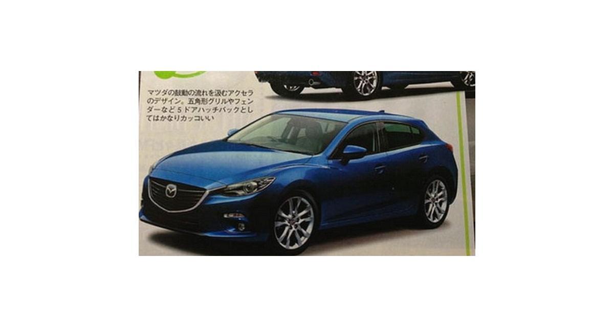 Nouvelle Mazda3 : les premières images officielles en fuite ?