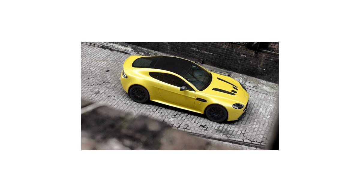 Aston Martin V12 Vantage S : 573 ch et une boîte 7 Sportshift III