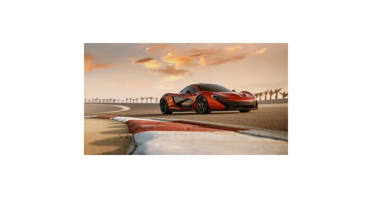 McLaren P1 : le record du Nürburgring en ligne de mire
