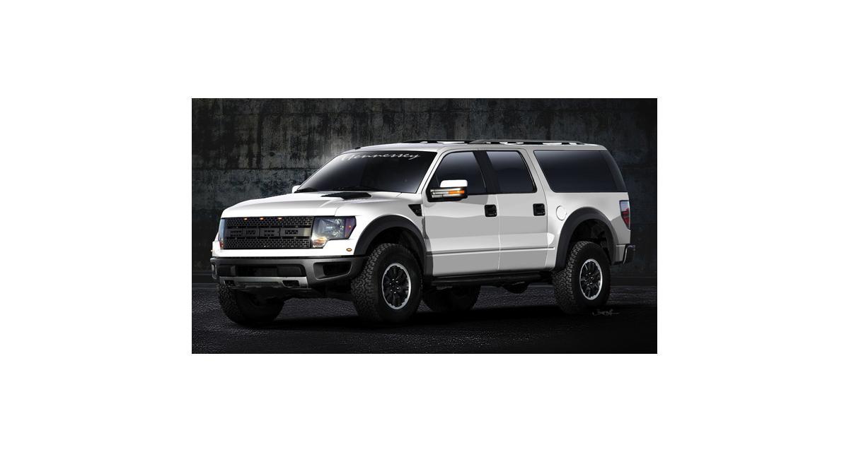 Hennessey VelociRaptor SUV : baroudeur ultime