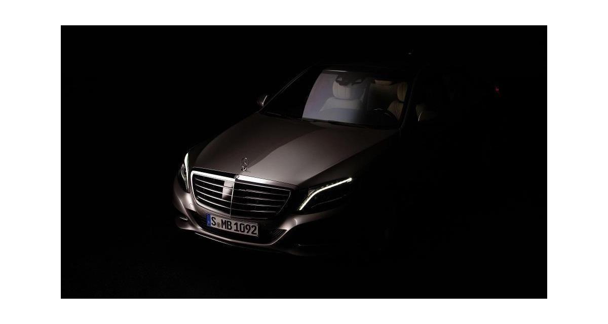 Mercedes Classe S : première photo officielle