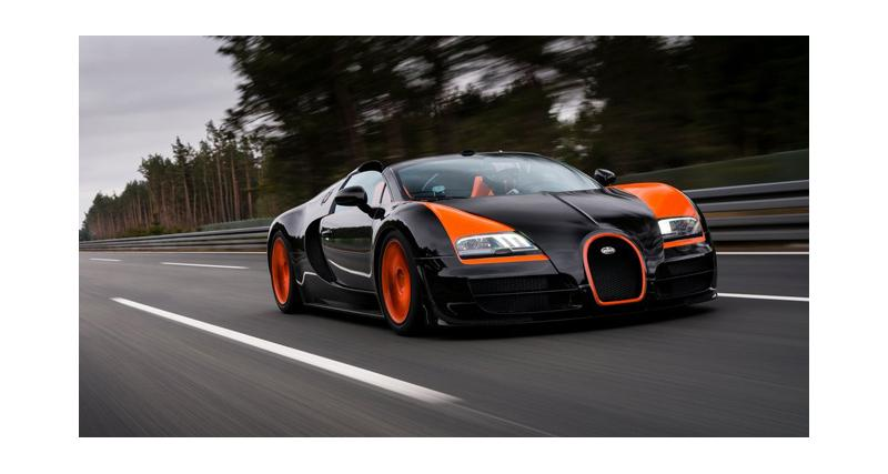 Shanghai 2013 : Bugatti Veyron 16.4 Grand Sport Vitesse WRC