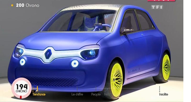 Zapping : Jean-Pierre Foucault, Renault Twin'Z et séance de drift