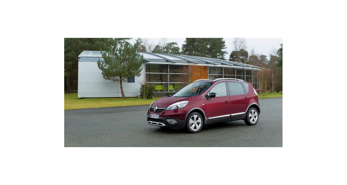 Nouveau Renault Scénic Xmod : vendu à partir de 25 450 €