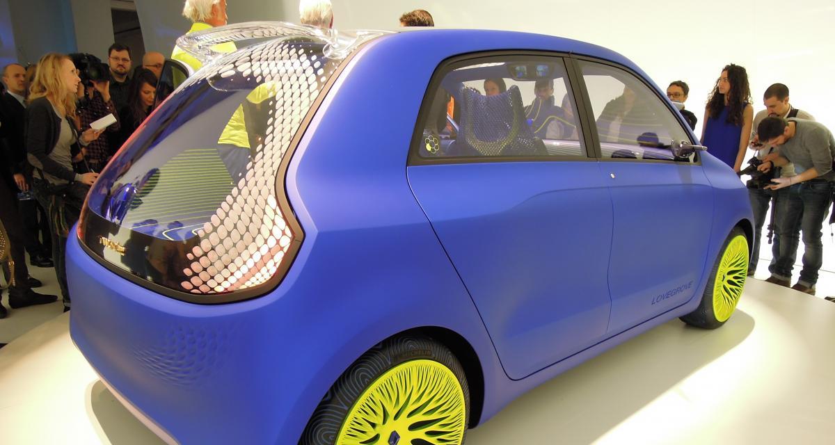 La prochaine Renault Twingo III en direct de Milan sous les traits du concept Twin'Z