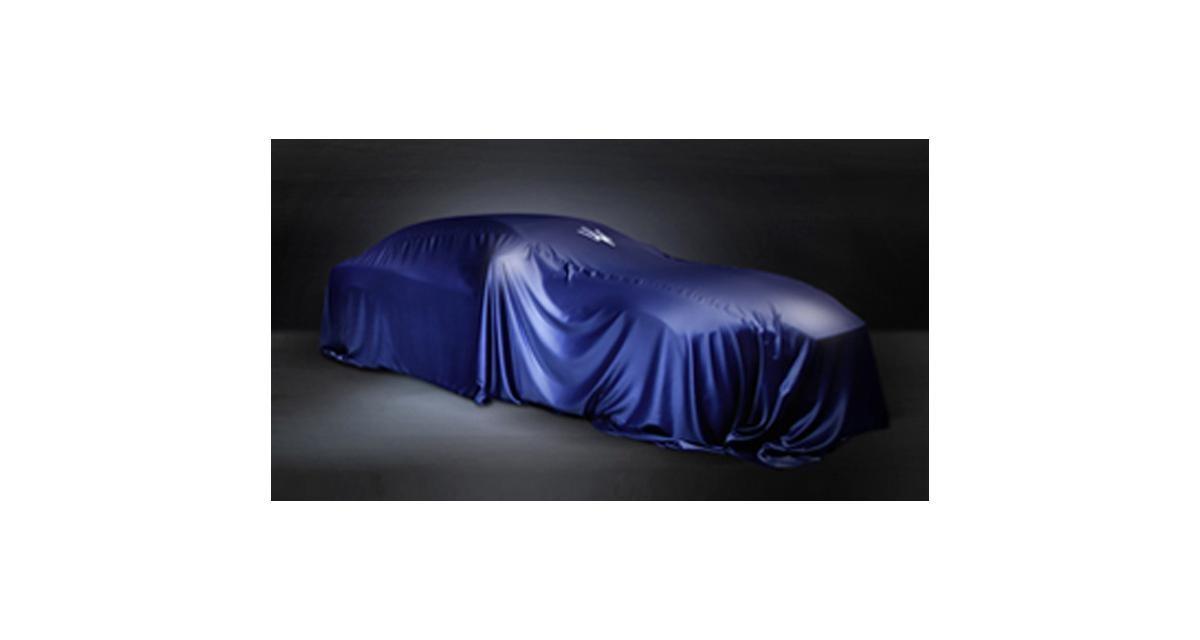 Maserati Ghibli : elle sera à Shanghai