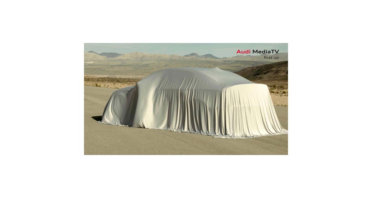 Audi A3 berline : premier teaser avant la présentation le 27 mars