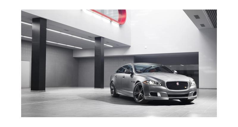 Jaguar XJR : limousine pour gentleman très pressé