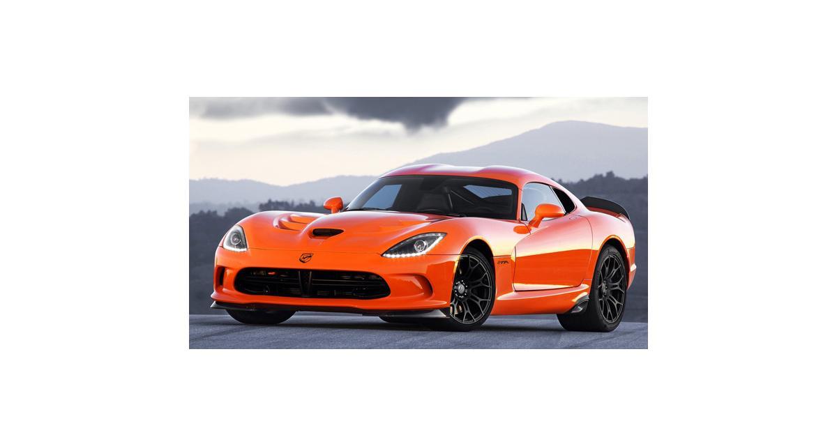 SRT Viper TA : orange venimeuse