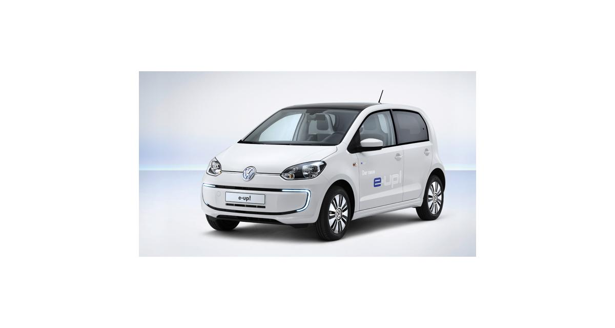 Volkswagen électrise la up!