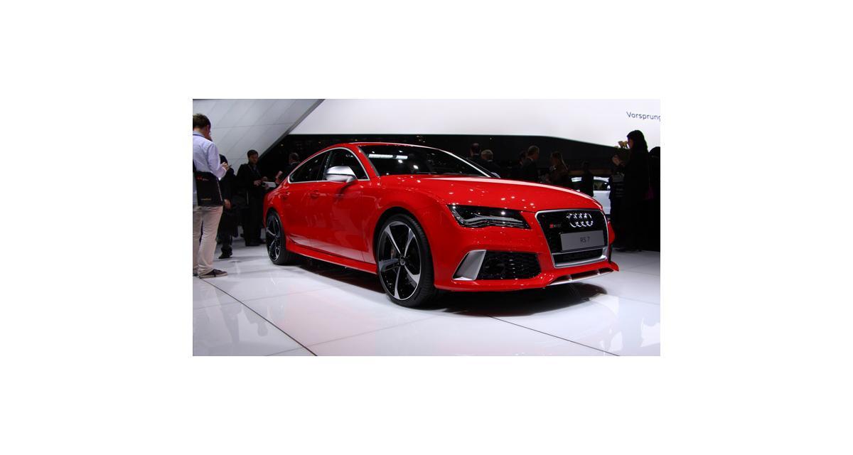 Audi RS7 : la cerise sur le gâteau