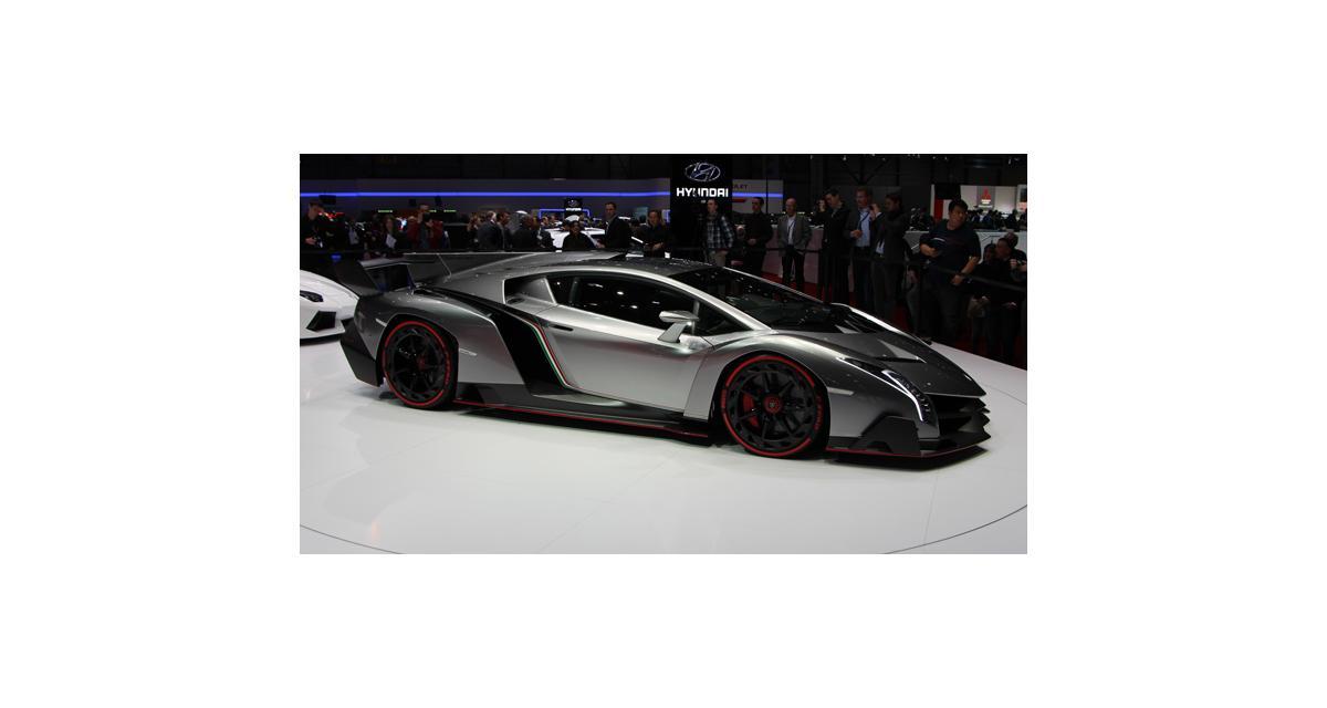 Lamborghini Veneno : le nouveau taureau mugit à Genève