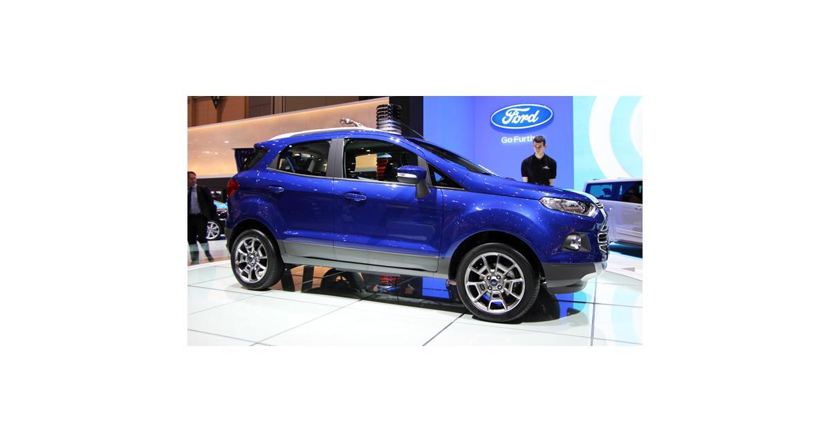 Ford Ecosport à Genève : nos photos du crossover à l'ovale