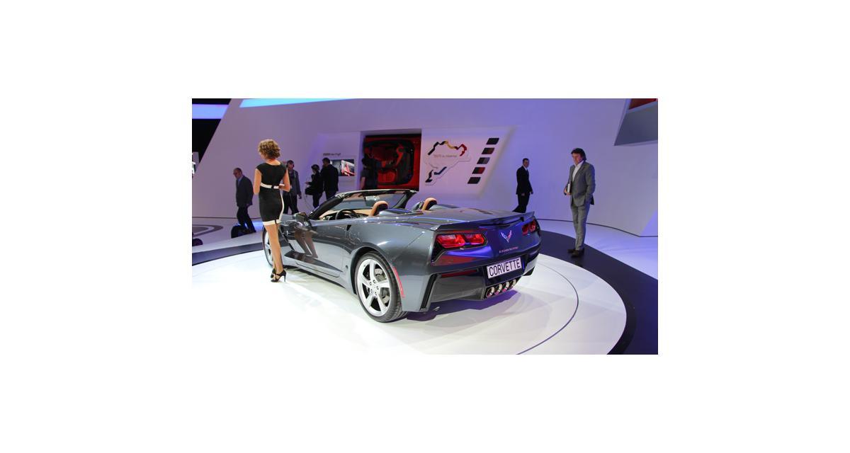 Genève en direct : les Chevrolet Corvette Stingray Coupé et Convertible
