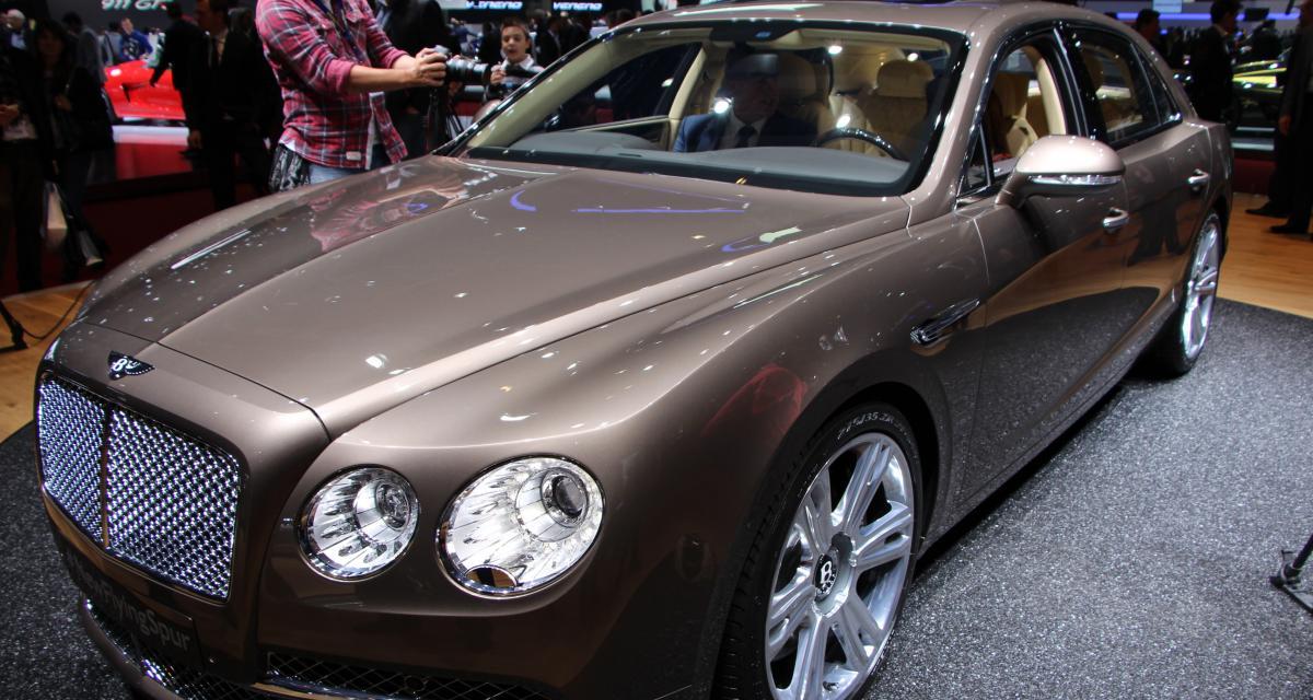 Bentley Flying Spur : nos photos en direct de Genève