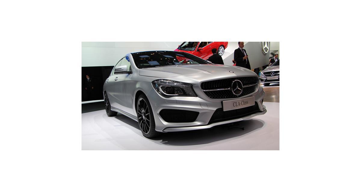 Nouvelle Mercedes CLA : nos photos en direct de Genève de la berline-coupé à l'étoile